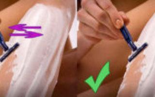 Как правильно брить интимную зону девушке?