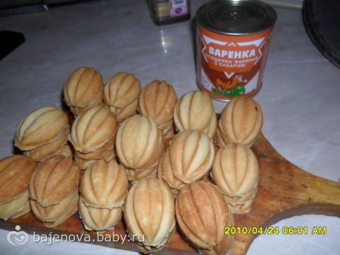 Рецепт орешков со сгущенкой в домашних условиях на советской орешнице