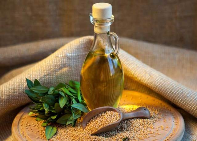 Горчичное масло - полезные свойства и противопоказания