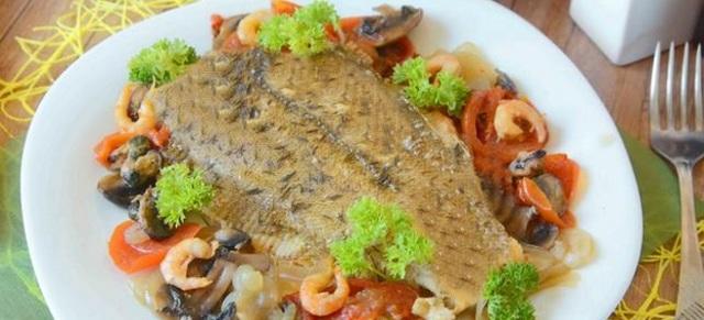 Как приготовить камбалу вкусно в духовке – пошаговый рецепт