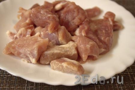Как приготовить азу из свинины с огурцами