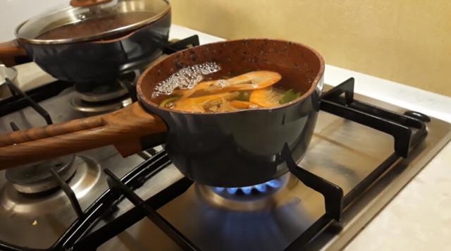 Как приготовить королевские креветки (замороженные, неочищенные)