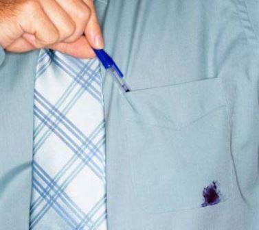 Как вывести чернила с одежды от шариковой ручки в домашних условиях: 20+ способов