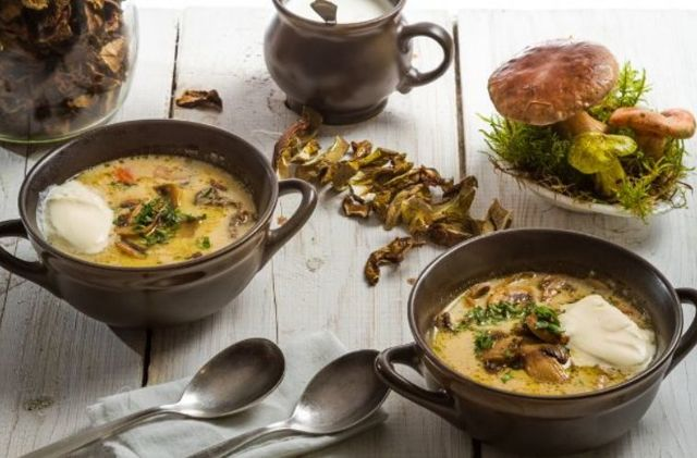 Как приготовить грибной суп из сушеных грибов: ТОП-10 пошаговых рецептов