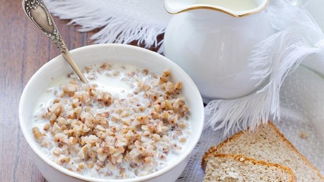 Гречка с кефиром для похудения по утрам – рецепт