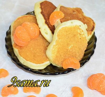 ТОП-10 рецептов пышных панкейков на кефире пошагово