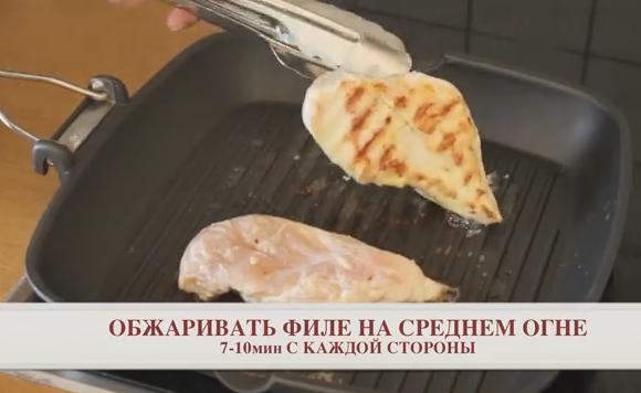 Салат Цезарь – рецепт с курицей и сухариками в домашних условиях