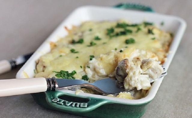Жареная картошка с грибами и луком на сковороде – рецепт с фото пошагово