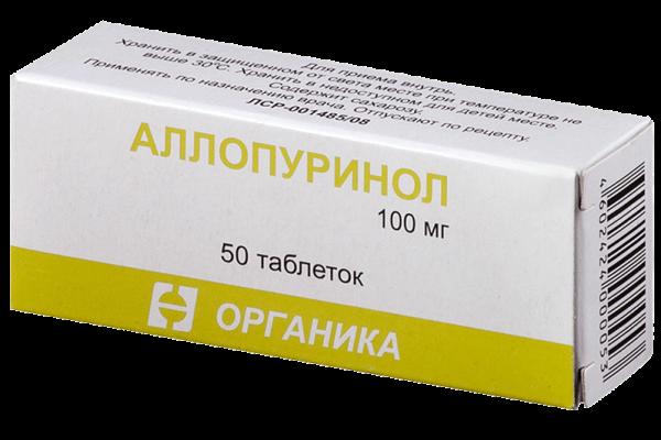 Лекарство от подагры: ТОП-15 лучших